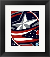 Framed Columbus Blue Jackets 2011 Team Logo