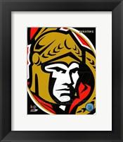 Framed Ottawa Senators 2011 Team Logo