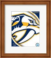 Framed Nashville Predators 2011 Team Logo