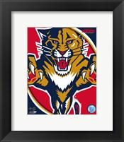 Framed Florida Panthers 2011 Team Logo
