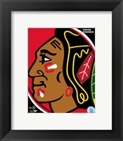 Framed Chicago Blackhawks 2011 Team Logo