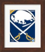Framed Buffalo Sabres 2011 Team Logo