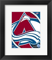 Framed Colorado Avalanche 2011 Team Logo