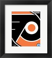 Framed Philadelphia Flyers 2011 Team Logo
