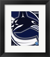 Framed Vancouver Canucks 2011 Team Logo