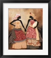 Village Women I Framed Print