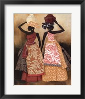 Village Women II Framed Print