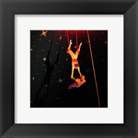 Framed Continental Circus Double Trapeze Act
