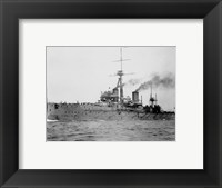 Framed HMS Dreadnought 1906 H61017