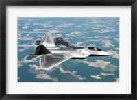 Framed Lockheed Martin F-22