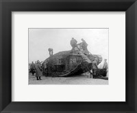 Framed Mark IV Tank