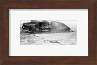 Framed Mark IV Tank Exploded