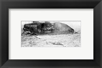 Framed Mark IV Tank Exploded
