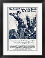 Framed Sunlight Soap WWI
