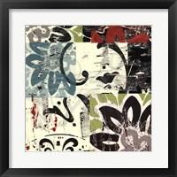 Framed Batik I