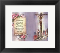 Framed I Asked Jesus (quote)