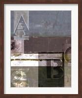 Framed Letter Play I