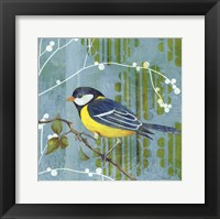 Framed Blue Sky Songbird II