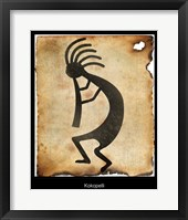 Framed Kokopelli II