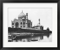 Framed Felice Beato Taj Mahal 1865
