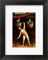 Framed Trocadero Vaudevilles
