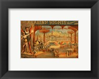 Framed Arabian Nights