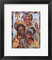 Framed Generations of Women