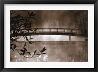 Framed Callaway Garden Pond