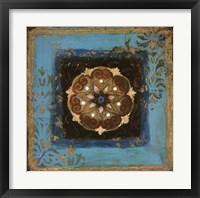 Exotic Medallion II Framed Print