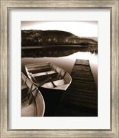 Framed Row Boat Awaits
