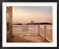 Framed Cape Lookout I