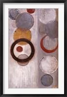 Crescent Moon II Framed Print