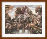 Framed Country Church