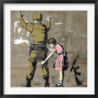 Framed Bethlehem Wall Graffiti