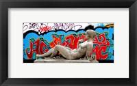 Framed Graffiti Sculpture Tokyo