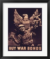 Framed Buy War Bonds