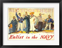 Framed All Together, Enlist in the Navy