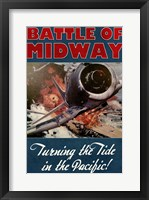 Framed Battle of Midway