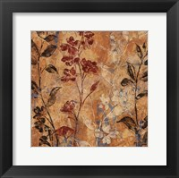 Flowers and Honey I Framed Print