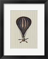 Framed Vintage Ballooning II