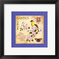 Framed Blooming Garden III