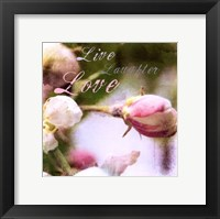 Framed Blossoming Inspiration I