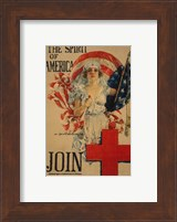 Framed Howard Chandler Christy WWI Poster