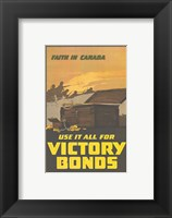 Framed Faith in Canada - Victory War Bonds