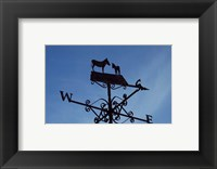 Framed Donkey Lovers Weathervane