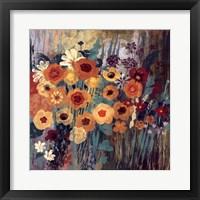 Floral Frenzy I Framed Print