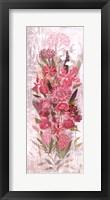 Framed Floral Frenzy Soft Pink I