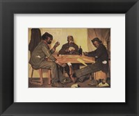 Framed Poker Game