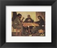 Framed Poker Game