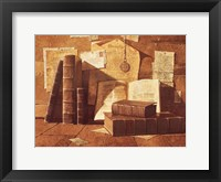 Treasured Letters Framed Print